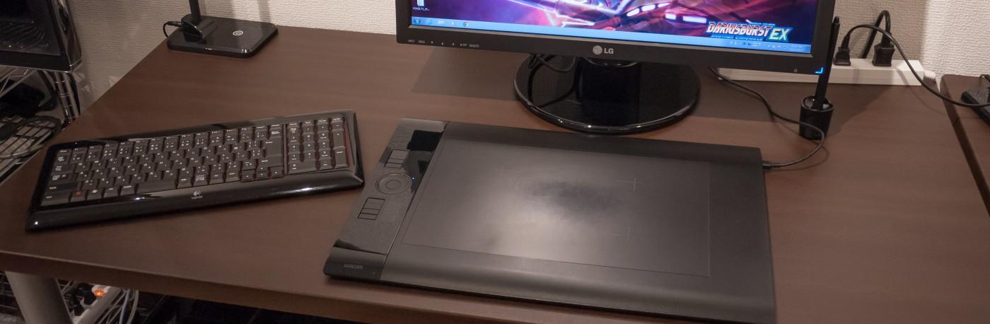 無料で使えるPCも完備。ペンタブレットでデジタルイラストも描けちゃいます!